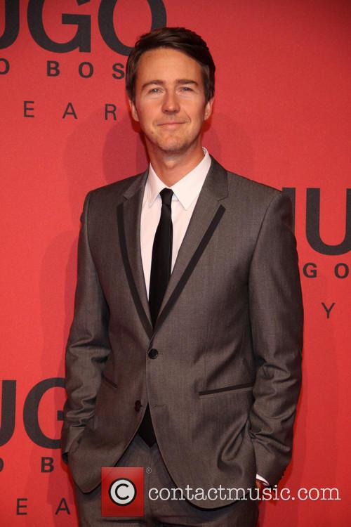 Edward Norton, Mercedez Benz Fashion Week
