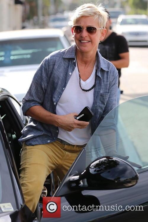 File Photo** * ELLEN DEGENERES TO HOST 2014...