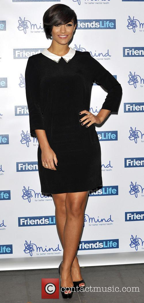 File Photo   The Saturdays' Frankie Sandford...