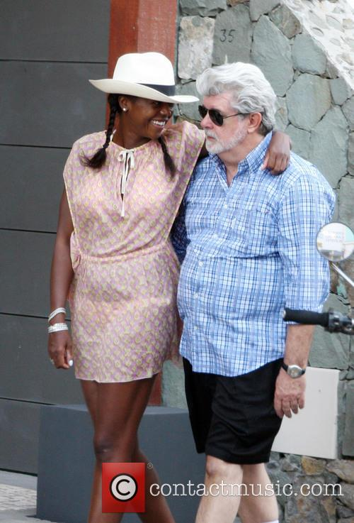 GEORGE LUCAS WELCOMES A DAUGHTER VIA SURROGATE -...