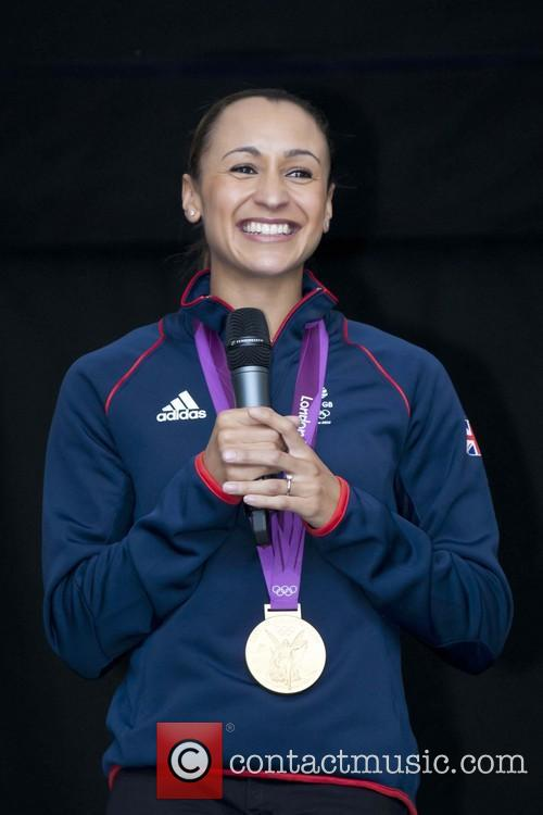 Jessica Ennis returns home to a hero's welcome...