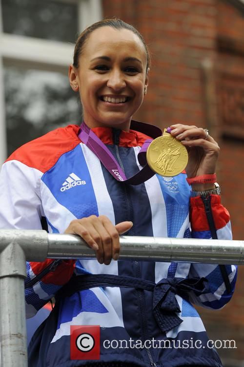Jessica Ennis The 2012 London Olympic Parade with...