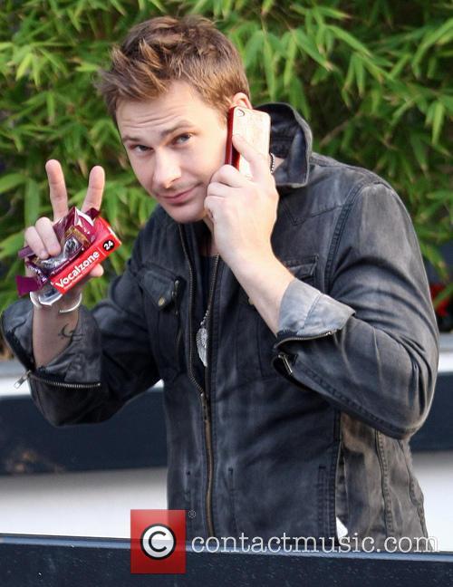 File Photo* Pop star Lee Ryan arrested British...