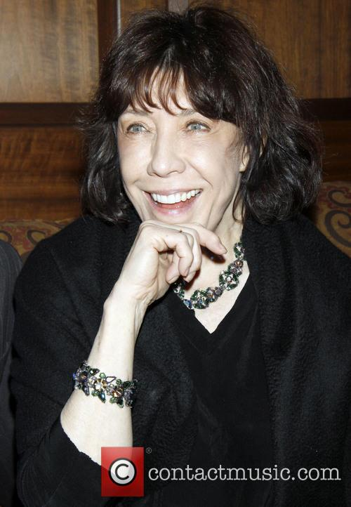 File Photo** * LILY TOMLIN RANG IN 2014...