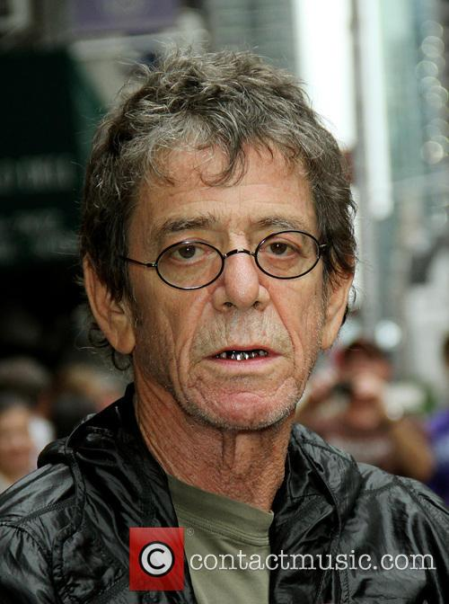 File Photo * LOU REED HOSPITALISED IN NEW...