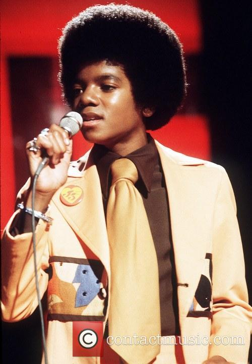 A young Michael Jackson on stage in London...