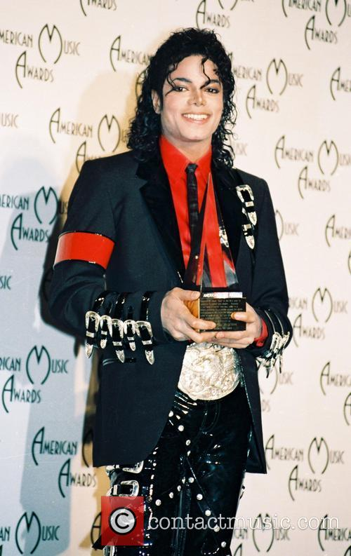 Michael Jackson The 15th Annual American Music Awards...