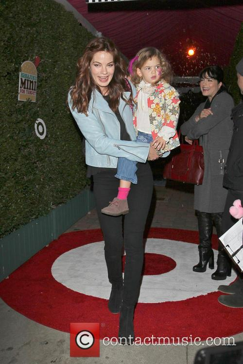 Michelle Monaghan and daughter Celebrities arrive at the...