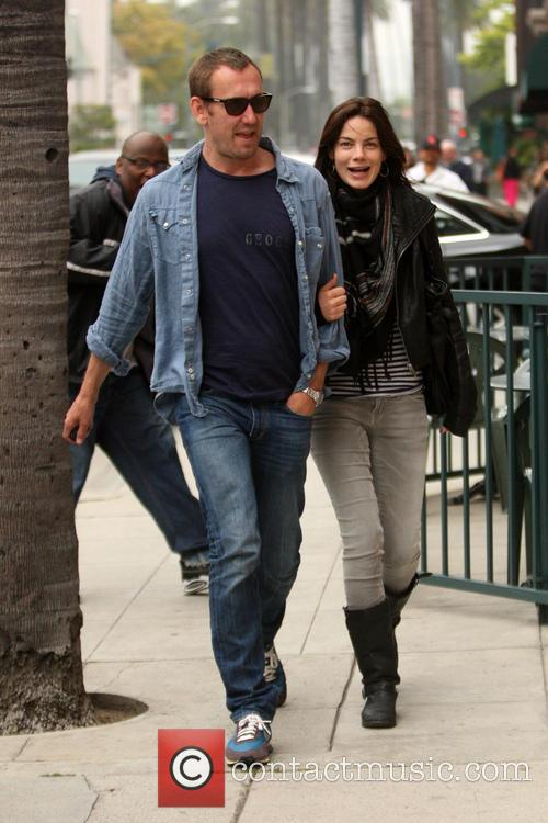 Peter White and Michelle Monaghan going to the...