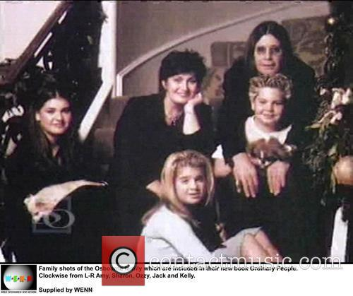 Family, Osbourne, Ordinary People. Clockwise, L-r, Amy, Sharon, Ozzy, Jack and Kelly 1