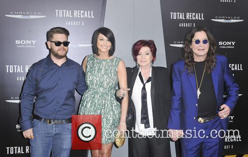Jack Osbourne, Lisa Stelly, Sharon Osbourne, Ozzy Osbourne and Grauman's Chinese Theatre 1