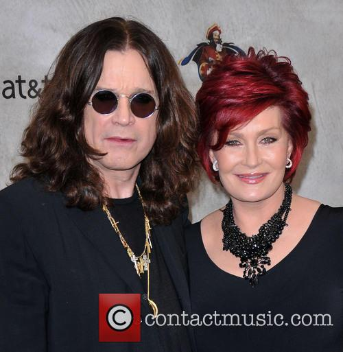 Ozzy Osbourne and Sharon Osbourne 2