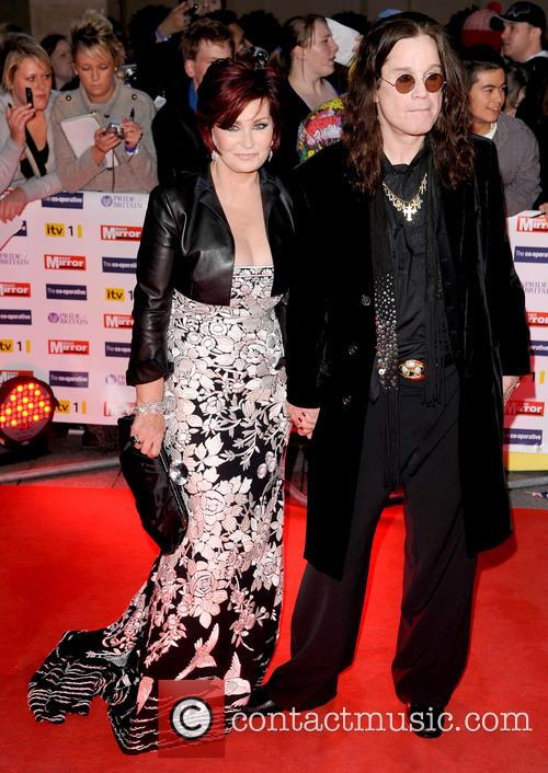 Sharon Osbourne and Ozzy Osbourne Pride of Britain...