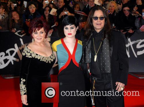 Sharon Osbourne, Kelly Osbourne, Ozzy Osbourne The Brit...
