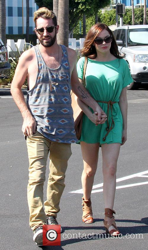 File Photo* * Rose McGowan weds Actress ROSE...