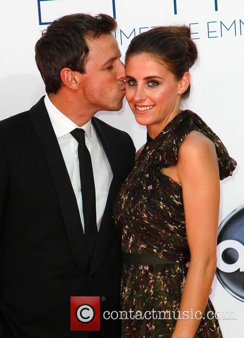 File Photo** * SETH MEYERS WEDS LAWYER FIANCEE...