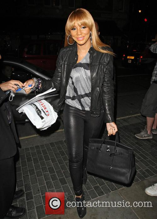 File Photo * TAMAR BRAXTON PREGNANT R&B star...