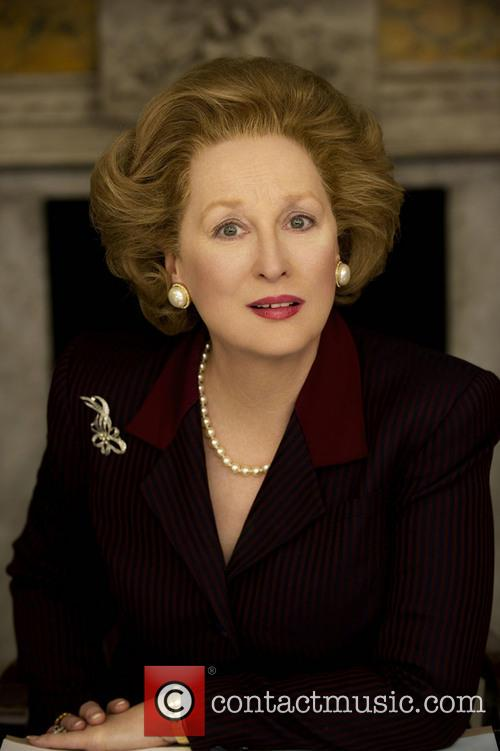 Meryl Streep appearing as Margaret Thatcher in 'The...
