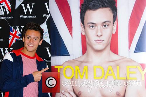 File Photo***  Tom Daley 'comes out' British...