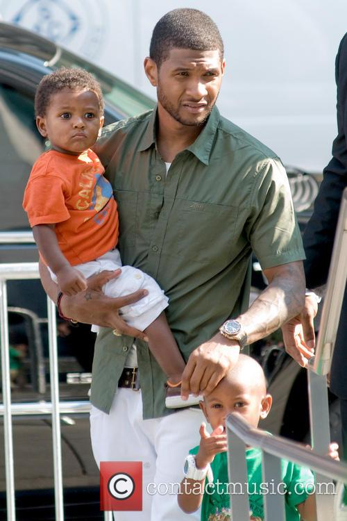 File Photos Usher's son has been taken to...