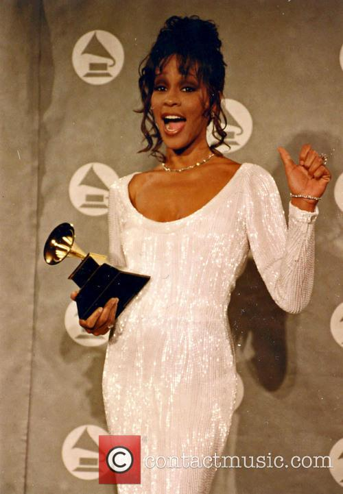 whitney houston grammy awards los angeles ca 5792823