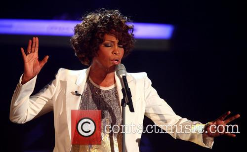 Whitney Houston performing live on German live TV...