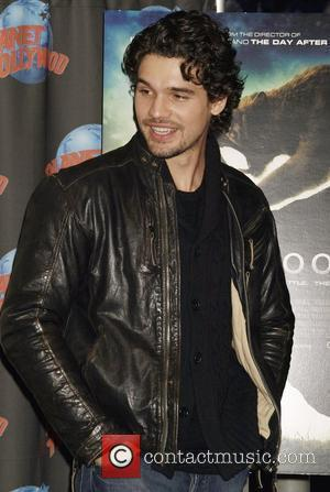 Steven Strait  presents costumes from the film '10,000 BC' at Planet Hollywood, New York City, USA - 03.03.08