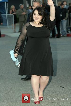 Nikki Blonsky arrives at the 13th annual Critics' Choice Awards held at the Santa Monica Civic Auditorium Santa Monica, California...