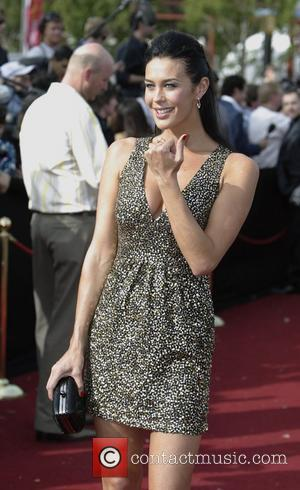 Megan Gale  2007 ARIA - Australian Recording Industry Association Awards at Acer Arena  Sydney, Australia - 28.10.07