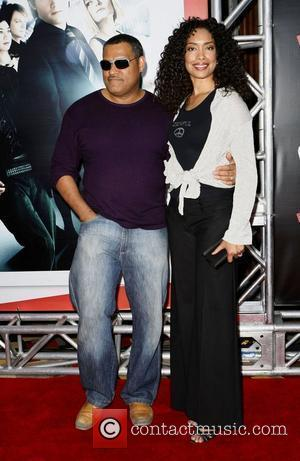 Laurence Fishburne and Gina Torres '21' film Premiere at Planet Hollywood Hotel and Casino Las Vegas, Nevada - 12.03.08