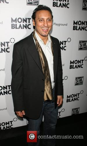 Aasif Mandvi The 7th Annual 24 Hour Plays on Broadway afterparty at the Whiskey Bar New York City, USA -...