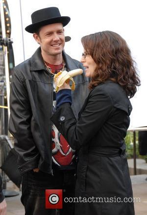 Dean Winters and Tina Fey