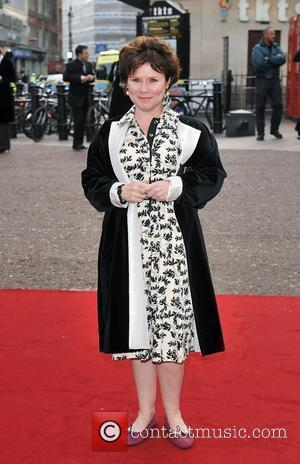 Imelda Staunton Charity World premiere of 'Three and Out' held at the Odeon Leicester Square - Arrivals London, England -...