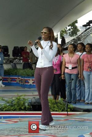 Yolanda Adams The Annual 4th of July Concert 2007 - Rehearsal The West Lawn of The Capitol Washington DC, USA...