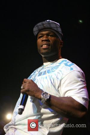 50 Cent Promotes Gig With Crotch