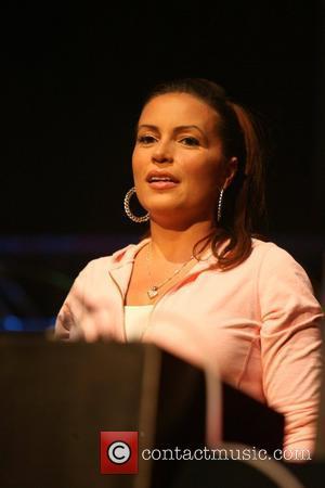 Angie Martinez and 50 Cent