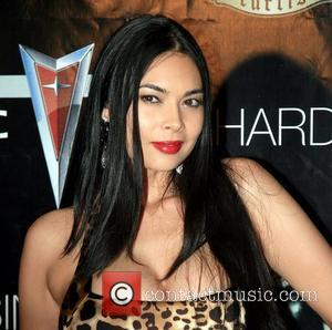 Tera Patrick on the pre-Video Music Awards (VMA) red carpet celebrating the release of 50 Cent's New Album,