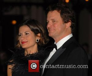 Colin Firth and Livia Guigglioli