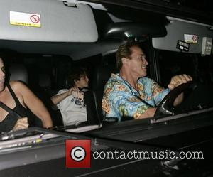 Schwarzenegger Goes Green With Hummer Love