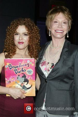 Bernadette Peters and Mary Tyler Moore