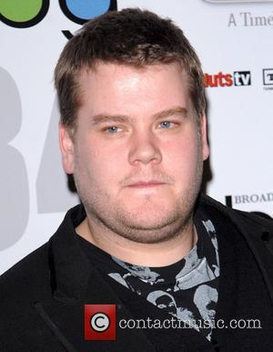 James Corden The Broadcasting Press Guild Awards lunch is at the Theatre Royal Drury Lane - Arrivals London, England -...