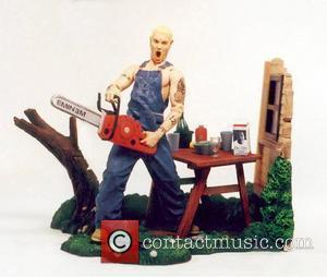 Chainsaw-wielding Action Doll. The Dolls Have Been Released By Art Asylum, Lily Allen and Russell Brand