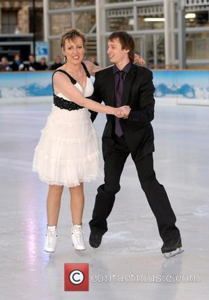 Aggy Mckenzie 'Dancing On Ice' press launch at the Natural History Museum London, England - 07.01.08