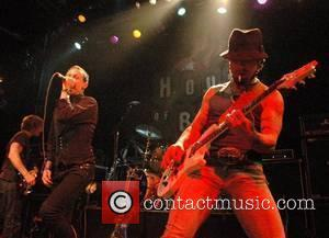 Chester Bennington and Dave Navarro Dimebag Darrell's Blacktooth Grin Party (following his Hollywood RockWalk Induction) at House of Blues West...