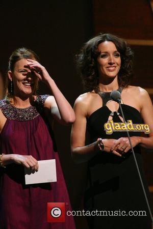 Laurel Holloman and Jennifer Beals GLAAD Media awards at Kodak theatre Hollywood, California - 26.04.08