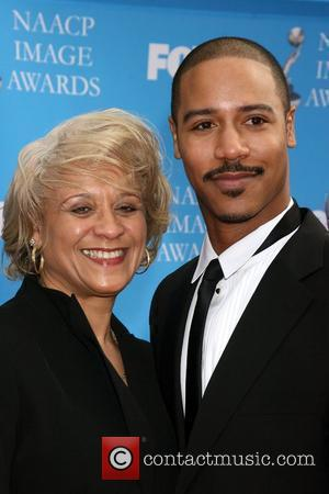 Brian White and Mother The 39th NAACP Image Awards held at the Shrine Auditorium - Arrivals Los Angeles, California -...