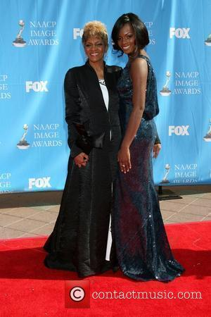 Tika Sumpter and mother Janet The 39th NAACP Image Awards held at the Shrine Auditorium - Arrivals Los Angeles, California...