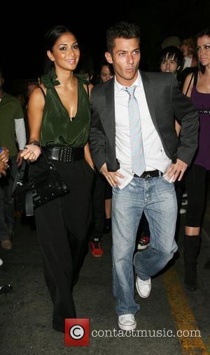 Nicole Scherzinger and Friend