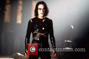 Brandon Lee  as 'Eric Draven' in the film 'The Crow' USA - 11.05.94