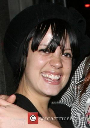 Lily Allen and Her Friend Florence Out Partying With Matching Tattoos At Punk Club In Soho.